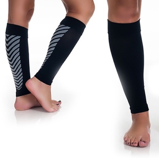 Compression Sleeves - Calf Support 1 paar)
